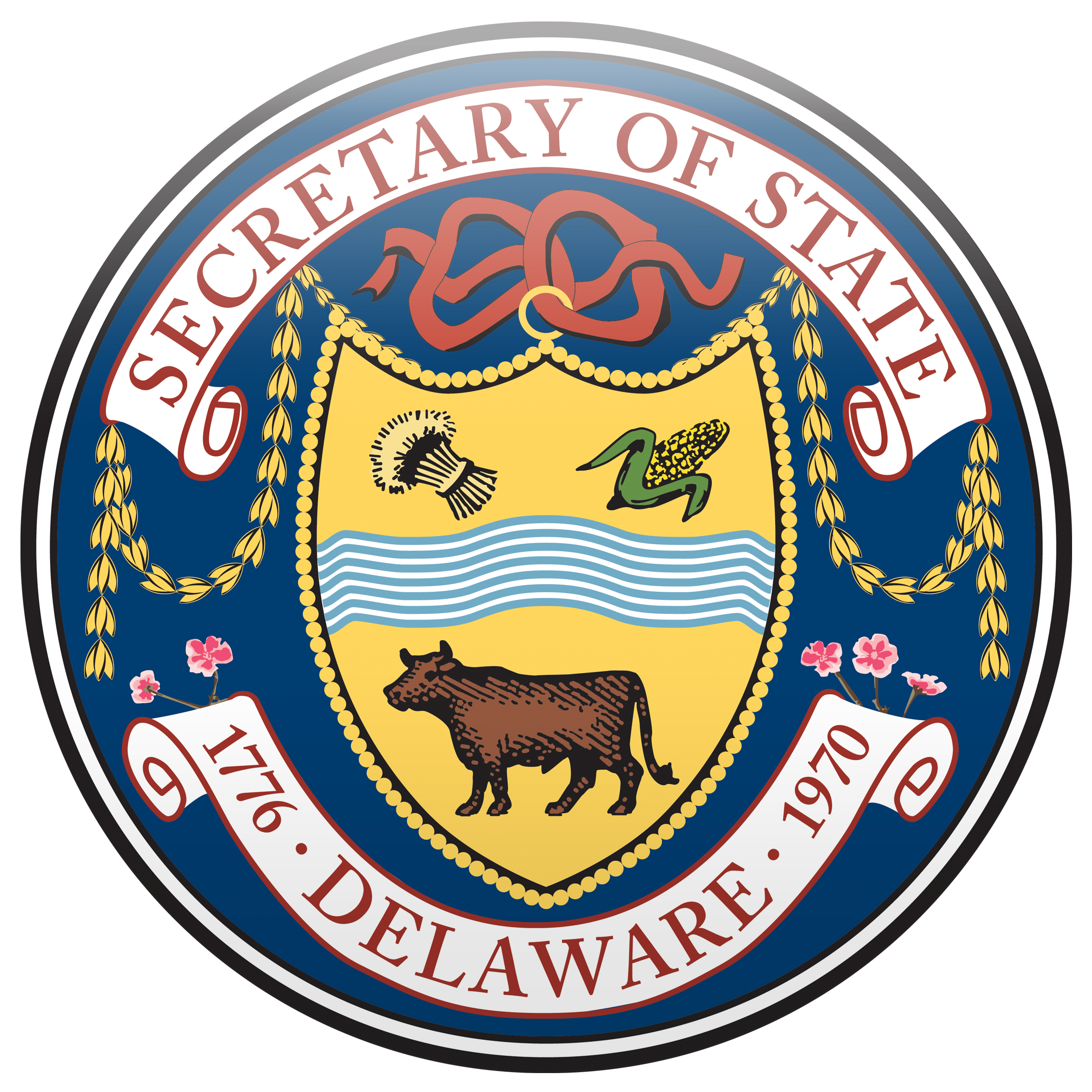 Delaware Department of State logo