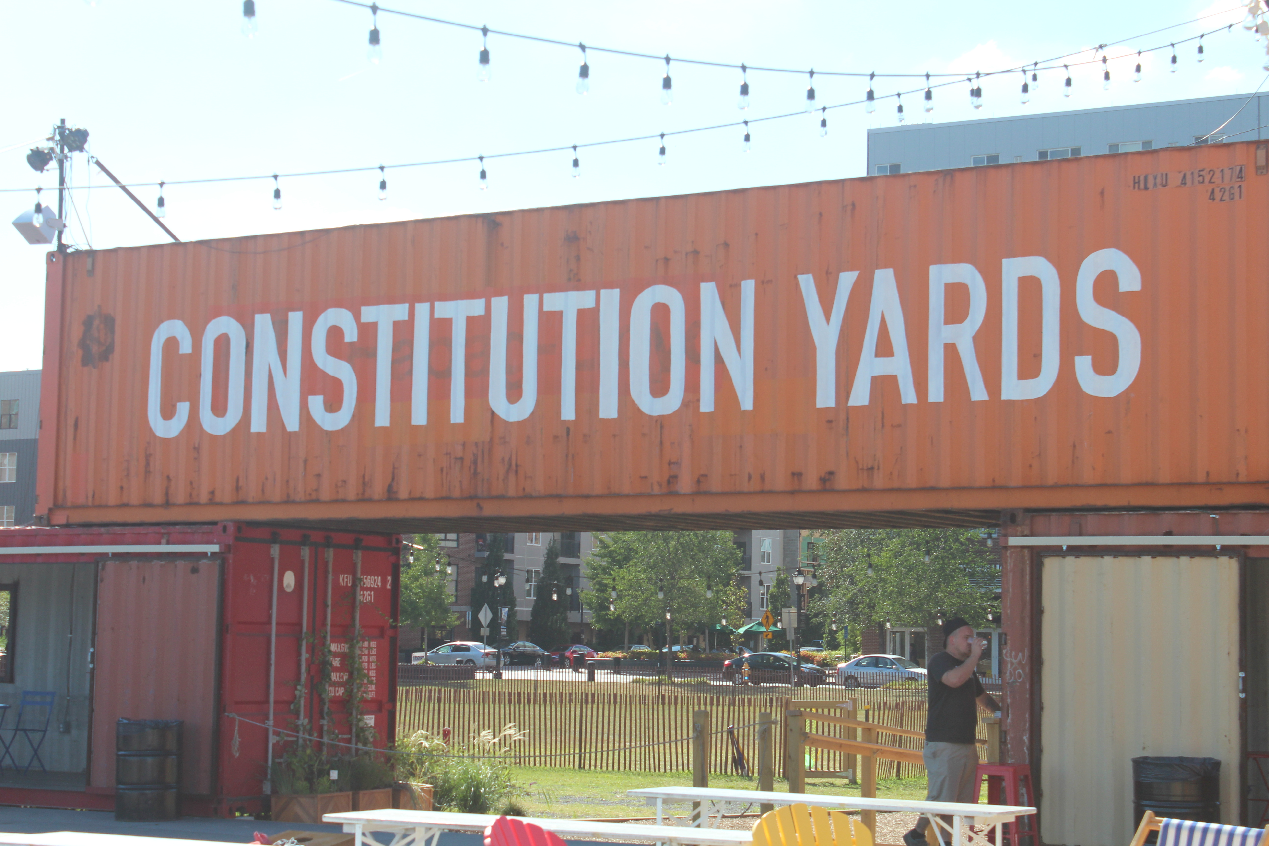 Network with other young professionals at DYPN happy hour at Constitution Yards.