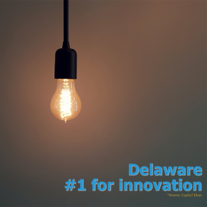 ICYMI. Large number of patents makes DE most innovative state in US.