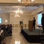 Damian speaks at Developing Delaware conference.