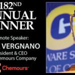 Chemours CEO Mark Vergnano will be the keynote speaker at DSCC annual dinner on Jan. 7.
