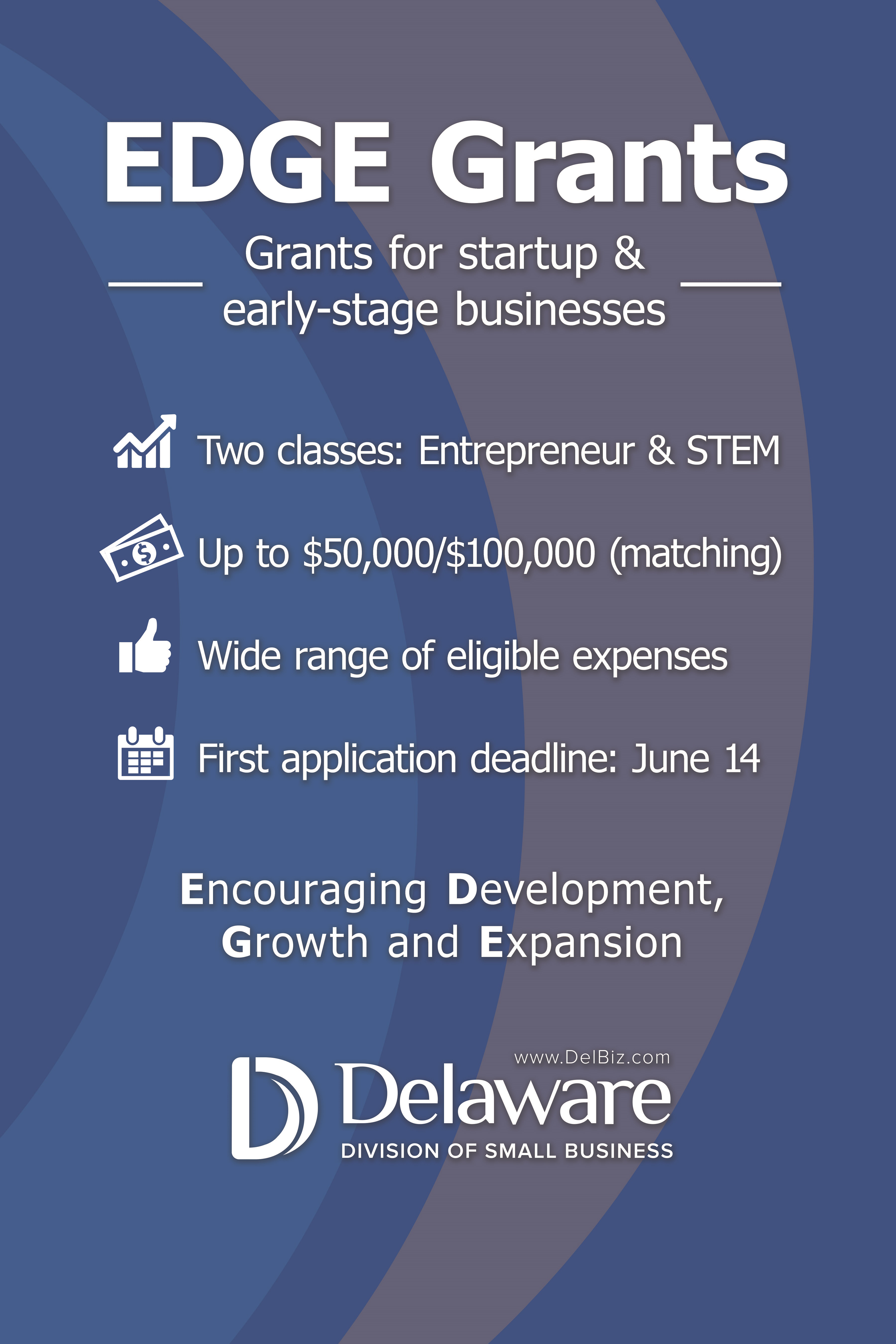EDGE Grants - Division of Small Business - State of Delaware